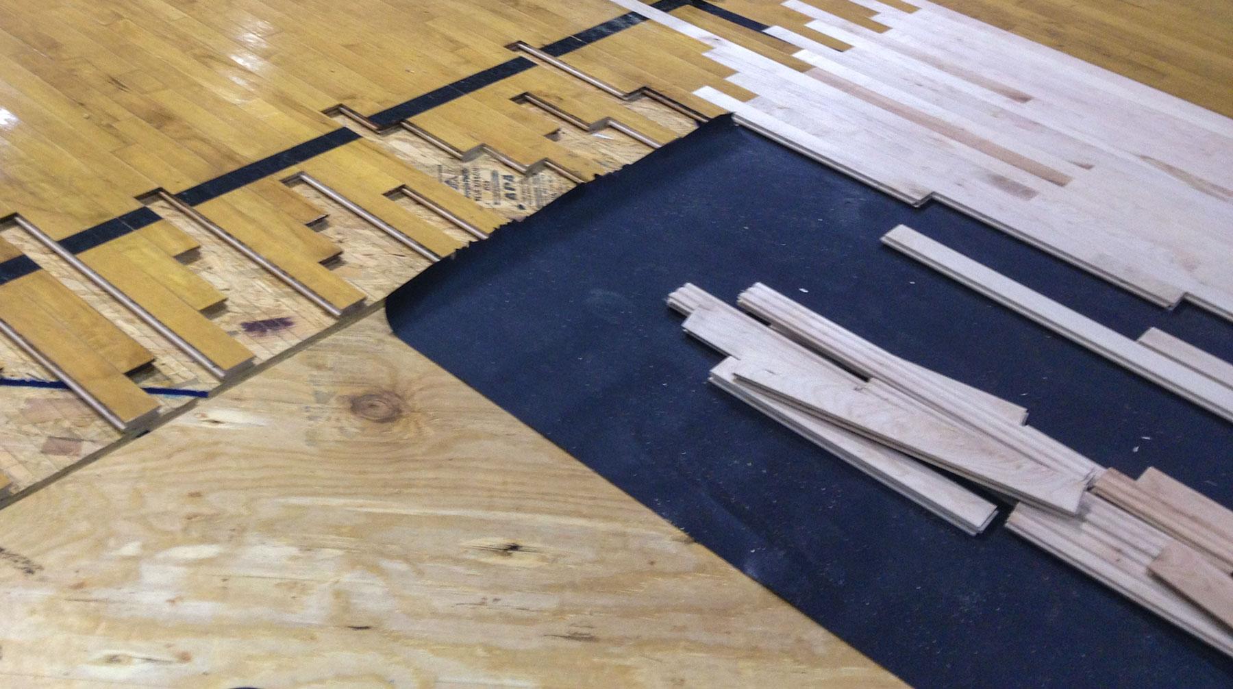 Gym Floor Repair Star Flooring Inc